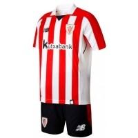 Camiseta de Fútbol NEW BALANCE Mini Kit 1ª Ath. Club Bilbao 2017-2018 JY730515-RCR