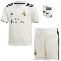 Camiseta de Fútbol ADIDAS Mini Kit 1ª Equipación Real Madrid 2018-19 LFP CG0538