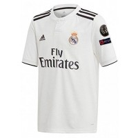 Camiseta de Fútbol ADIDAS 1ª Equipación Real Madrid CF 2018-2019 Champions CJ9290