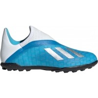 de Fútbol ADIDAS X 19.3 Laceless TF Junior EF9123