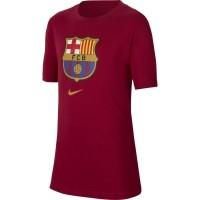 Camiseta de Fútbol NIKE FC Barcelona 2020-2021 100% algodón Niño  CD3199-620