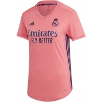 Camiseta de Fútbol ADIDAS 2ª Equipación Real Madrid 2020-2021 Mujer FQ7497