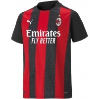 Camiseta de Fútbol PUMA 1ª Equipación AC Milán 2020-2021 Niño 757447-01