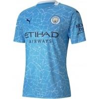 Camiseta de Fútbol PUMA 1ª Equipación Manchester City 2020-2021 757058-01
