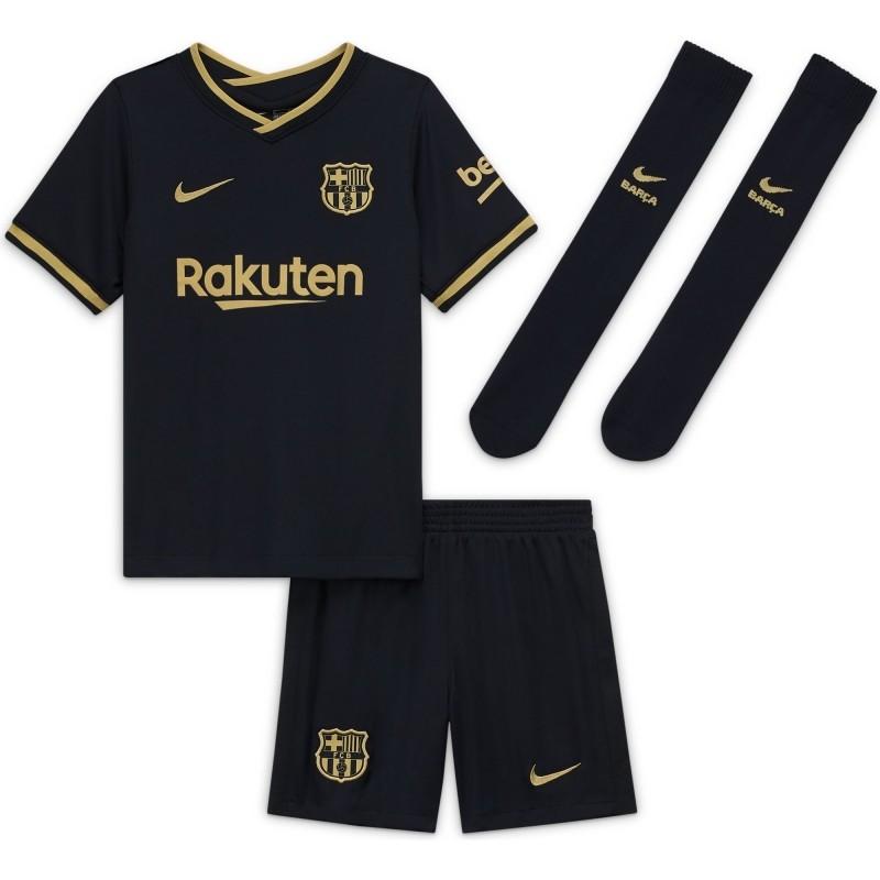 Camiseta Nike 2ª Equipación FC Barcelona 2020-2021 Minikit Infantil