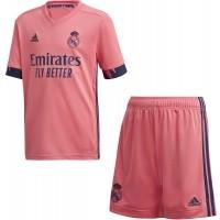 Camiseta de Fútbol ADIDAS 2ª Equipación Real Madrid 2020-2021 Minikit Niño FQ7496