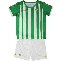 Camiseta de Fútbol KAPPA 1ª  Equipación Real Betis 2020-2021 Kit Niño 3118ZIW-A00