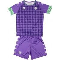 Camiseta de Fútbol KAPPA 2ª Equipación Real Betis 2020-2021 Kit Niño 3118ZJW-A01