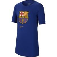 Camiseta de Fútbol NIKE FC Barcelona 2020-2021 100% algodón Niño  CD3199-455