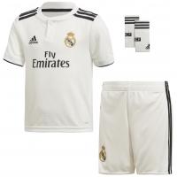 Camiseta adidas Mini Kit 1ª Equipación Real Madrid 2018-19 LFP