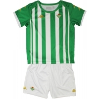 Camiseta Kappa 1ª  Equipación Real Betis 2020-2021 Kit Niño