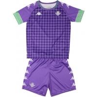 Camiseta Kappa 2ª Equipación Real Betis 2020-2021 Kit Niño
