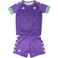 Camiseta Kappa 2ª Equipación Real Betis 2020-2021 Kit Bebé