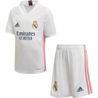 Camiseta adidas 1ª Equipación Real Madrid 2020-2021 Minikit Infantil