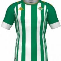 Camiseta Kappa 1ª  Equipación Real Betis 2020-2021 Niño