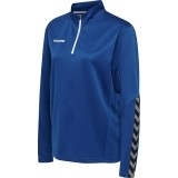Sudadera de Fútbol HUMMEL HmlAutenthic Half Zip Sweatshirt 204929-7045