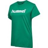 Camiseta Entrenamiento de Fútbol HUMMEL HmlGo Cotton Logo 203518-6140