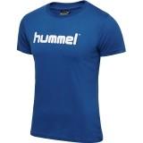 Camiseta Entrenamiento de Fútbol HUMMEL HmlGo Cotton Logo 203518-7045