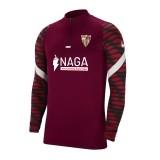 Sudadera de Fútbol NIKE Sevilla FC 2021-2022 Strike Drill Top Junior CW5860-677