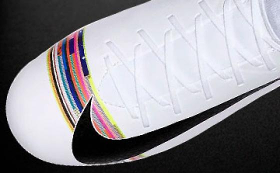 Botas de Fútbol Nike CR7 Blanco / Negro