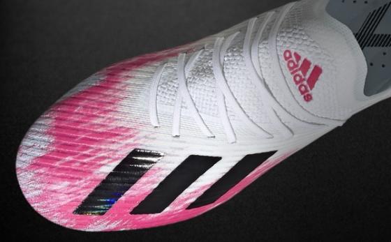 Botas de Fútbol adidas X Blanco / Rosa Flúor
