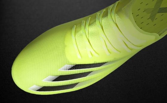 Botas de Fútbol adidas X Amarillo Flúor / Negro
