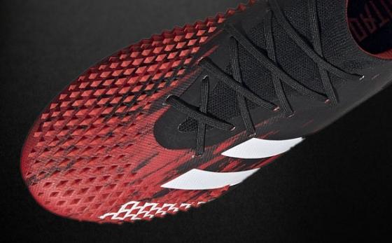Botas de Fútbol adidas Predator Negro / Rojo