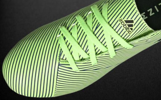 Botas de Fútbol adidas NEMEZIZ Verde Flúor / Negro