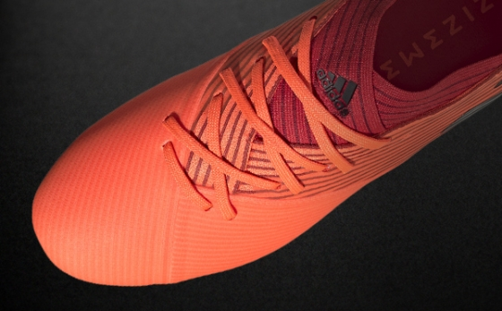 Botas de Fútbol adidas NEMEZIZ Naranja / Negro