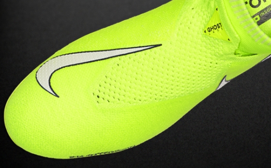 Botas de Fútbol Nike Phantom Amarillo Flúor / Blanco